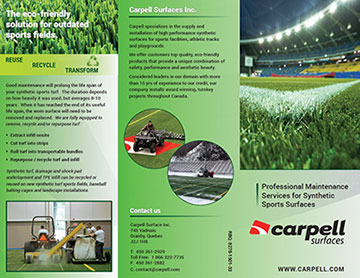 Professional Maintenance Services for Synthetic Sports Surfaces