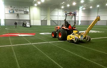 Carpell turf and infill removal