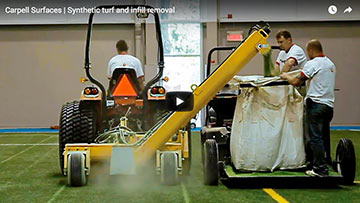 Carpell Surfaces synthetic turf replacement
