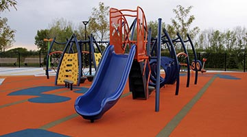 Synthetic Playground Surfaces