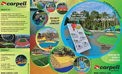 Carpell Surfaces Playgrounds Brochure