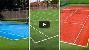 Carpell Surfaces Eco-friendly tennis surfacing